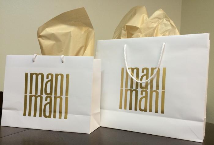 IMANI IMANI WHITE BAGS
